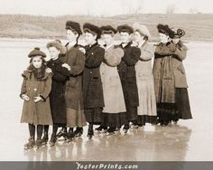 Being Grace Elisabeth Victorian Photos, Antique Photos, Old Photos, Vintage Glam, Vintage Ladies, Skating Pictures, Figure Skating Costumes, Vintage Winter, Skating Dresses