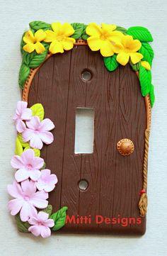 Fairy Door switch plate - mitti designs