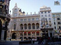 Casino de Madrid, calle de Alcalá.