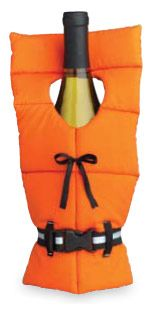 Life Jacket Preserver Wine Bottle Cover Tote
