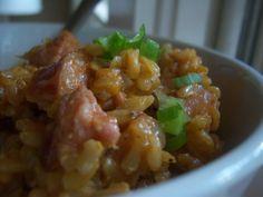 cajun smoked sausage &rice
