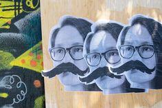 Enter You, Street Art Engineer Print Vigilante!  Spice up the street with DIY Engineering Print Street Art from Photojojo!