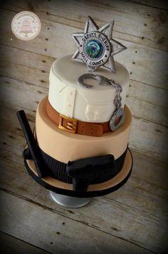 Deputy Sheriff - Cake by Sugarpatch Cakes