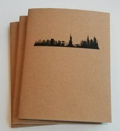 Handmade staple bound mini notebooks. These notebooks are great for taking quick notes and jotting down those ideas before they get away.  The