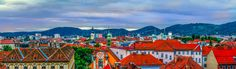 Check out Historic city panorma by ChristianThür Photography on Creative Market Austria, Photos, Pictures, City, Check, Creative, Photography, Graz, Architecture