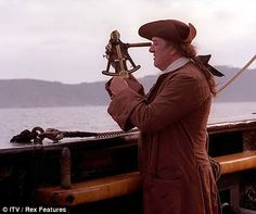 Michael Gambon as John Harrison in TV's Longitude. It's the story of Harrison's efforts to develop the marine chronometer & thereby win the Longitude Prize in the 18th century. This is interwoven with the story of Gould, a retired naval officer, who is restoring Harrison's 4 chronometers & popularises his achievements in the early 20thC. In 2001, Longitude was nominated for the BAFTAs in 10 categories, winning in 5, including Best Actor (Michael Gambon) & Best Drama Serial. Simply Brilliant!