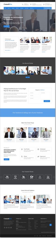Consultpro is a clean and modern #WordPress theme for corporate #website like #Financial advisor, Accountant, Consulting Firms, insurance or Investment firm download now➯ https://themeforest.net/item/consultpro-business-finance-and-consultancy-wordpress-theme/16435584?ref=Datasata