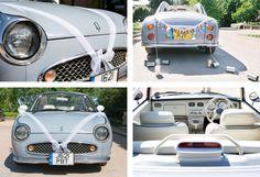 Nissan Figaro wedding car