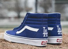 MLB x Vans LA Dodgers Pack #vansshoes #vans #vanscollabs #LADodgers #MLB #Mayorleaguebaseball