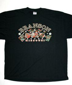 Vintage Branson Missouri Tourist Shirt available at VintageMensGoods, $17.00