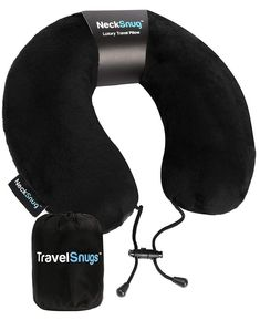 NeckSnug Luxury Travel Pillow 100 Memory Foam Neck Pillow for Travel >>> You can find out more details at the link of the image. (This is an affiliate link) Neck Pillow Travel, Travel Pillows, Carry On Essentials, Travel Rewards, Best Credit Cards, Amazon Associates, Travel Items, Luxury Travel, Memory Foam