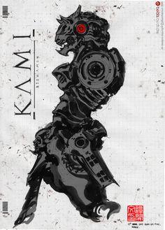 KAMI : Bishamon X Beats by ~NuMioH on deviantART