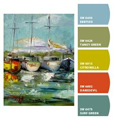 Paint colors from Chip It! by Sherwin-Williams. Artist - Delilah Smith. ChipCard by Reni Apostolova.