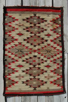 C20S Chinle Navajo Rug Native American Indian Blanket Navaho Textile Weaving