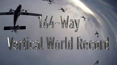More Vertical World Record Skydive Chicago #skydivechicago #paragear #skydivingworldrecord