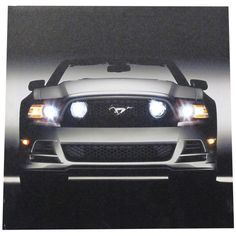 Amazon.com: Westland Giftware Lighted Canvas Wall Art, 15 by 15-Inch, Ford Mustang GT: Oil Paintings