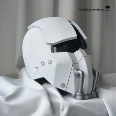 Synth Field Helmet from Fallout 4 1:1 EVA by mellowmindCosplay