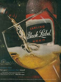 carling black label beer ads - Google Search