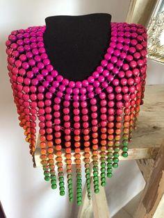 Necklace colorfull!!! una cascada de colores