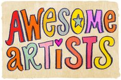 awesome artists| A #2usestuesday Feature