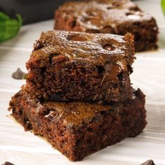Zucchini Brownies are rich, chocolaty, and a favorite summer dessert! You will never know they are made with zucchini! Zucchini Brownies are rich, chocolaty, and a favorite summer dessert! You will never know they are made with zucchini! Zucchini Desserts, Zucchini Cake, Brownie Recipes, Cake Recipes, Dessert Recipes, Eggless Brownie Recipe, Nutella Recipes, Summer Desserts, Summer Recipes
