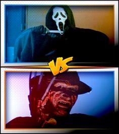 GHOSTFACE versus FREDDY KRUEGER ■ http://terror.ca/movies/franchise/rank?f=262&f2=257