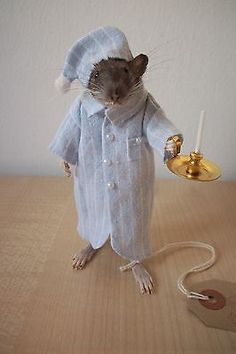 "Anthropomorphic Taxidermy Mouse & Rat "" WEE WILLIE WINKIE "" by mypestfriends"