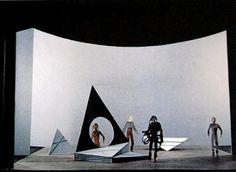 "Isamu Noguchi ""Lunar Landscape"" 1944 Isamu Noguchi ""Kouros"" 1945 Isamu Noguchi ""The Kite"" 1958 ""Man Walking. Bauhaus, Scenography Theatre, Isamu Noguchi, Japanese American, Stage Set, Scenic Design, Set Design, American Artists, Great Artists"