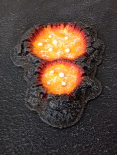 Lava filled crater terrain - Bristol Vanguard chaos world board