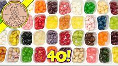 Jelly Belly 40 Sampler Gift Box, I Mix & Match Flavors!  #JellyBelly #SampleGiftBox #MixMatchFlavors