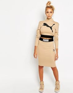 Go for all-out nude vibes in this sleek two-piece, just in from Puma