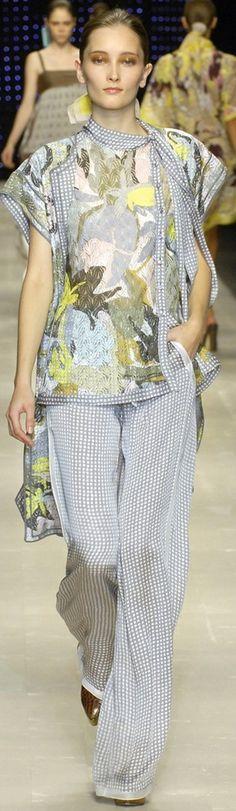 Missoni ~ Summer Multi-print Silk Pant Suit