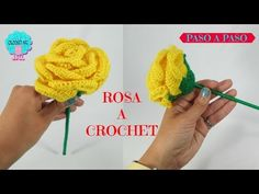 Como tejer rosas a crochet - Make easy Knitting beautiful bouquets of roses Crochet Puff Flower, Crochet Flower Tutorial, Crochet Flower Patterns, Crochet Patterns Amigurumi, Love Crochet, Irish Crochet, Baby Knitting Patterns, Easy Crochet, Crochet Flowers