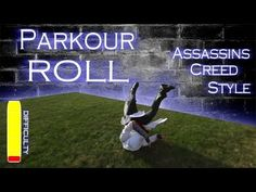 Learn the PARKOUR ROLL - Assassins Creed Style - YouTube