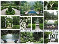 Edmund Hollander Landscape Architects | Forest Retreat