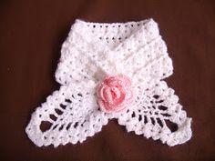 Esta bufanda la hice con el patrón que les dejo mas abajo
