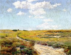 A Sunny Afternoon, Shinnecock Hills - William Merritt Chase ...