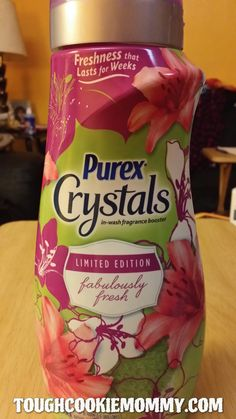 Make Laundry Day Fabulously Fresh!  #PurexInsiders #Giveaway #Ad