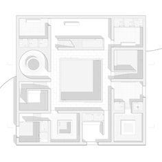 Entwerfen und Gebäudelehre II | Constantin Schmidt Grundriss mit Transparenz belegen