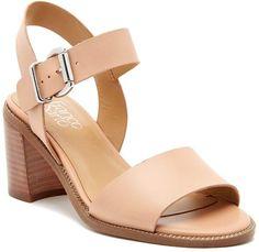 7b2e432c346 Franco Sarto Harlie Ankle Strap Leather Sandal