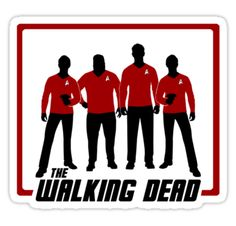The Walking Dead - Red Shirts  by Tracey Gurney