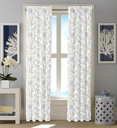 Crosslake Curtain Panel