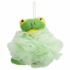 Evriholder 710-FROG Splashies Kids Poof Frog by Evriholder. $7.70. Perfect for small hands, the poof has a mesh body with cloth details. The poof makes producing a luxurious lather easy. Package includes 1 frog poof. Use with your favorite show gel. The scrubby mesh exfoliates while cleaning. Kids will love taking a bath with their favorite poof. Perfect for small hands, the poof has a mesh body with cloth details. The poof makes producing a luxurious lather easy- just use a...