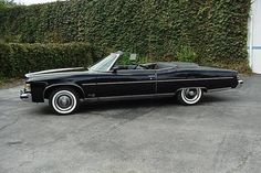 The seller tells us this example of the last big Pontiac convertible has been driven only 73 miles from new and is in like new condition. The large boat of a car is appropriately located in Marine City,. Pontiac Convertible, Pontiac Bonneville, Marine City, Pontiac Cars, Bad To The Bone, Us Cars, Barn Finds, Cadillac, Grand Prix