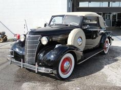 1938 Chevrolet Cabrolet.  One of only two that were ever made.