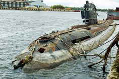 Abandoned submarine in the Ukraine & check out the video!