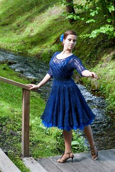 Ravelry: Ligvita's Mohair dress (3)