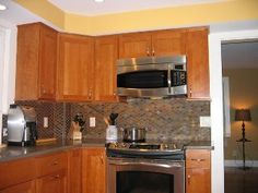 Cherry wood shaker style, Beverly, MA by Oceanside Cabinets