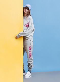 Spend Lazy Days In Dim. E Cres' Super Sweats