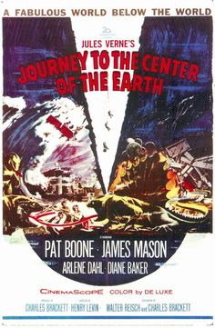 Journey to the Center of the Earth 11x17 Movie Poster (1959)